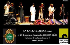CARTEL CASA ARABE